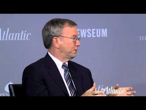 Eric Schmidt at Washington Ideas Forum