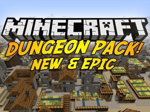 Dungeon Pack Mod for Minecraft 1.9/1.8.9/1.8