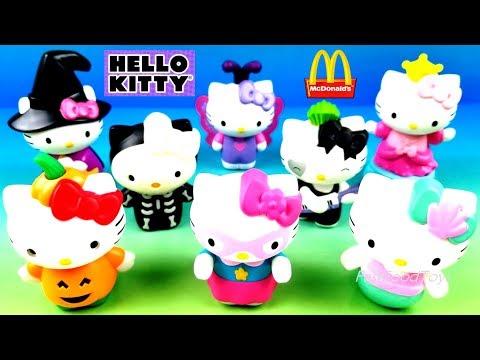 Mcdonalds Halloween 2020 Philippines 2019 McDONALD'S HELLO KITTY HALLOWEEN HAPPY MEAL TOYS FULL SET 8