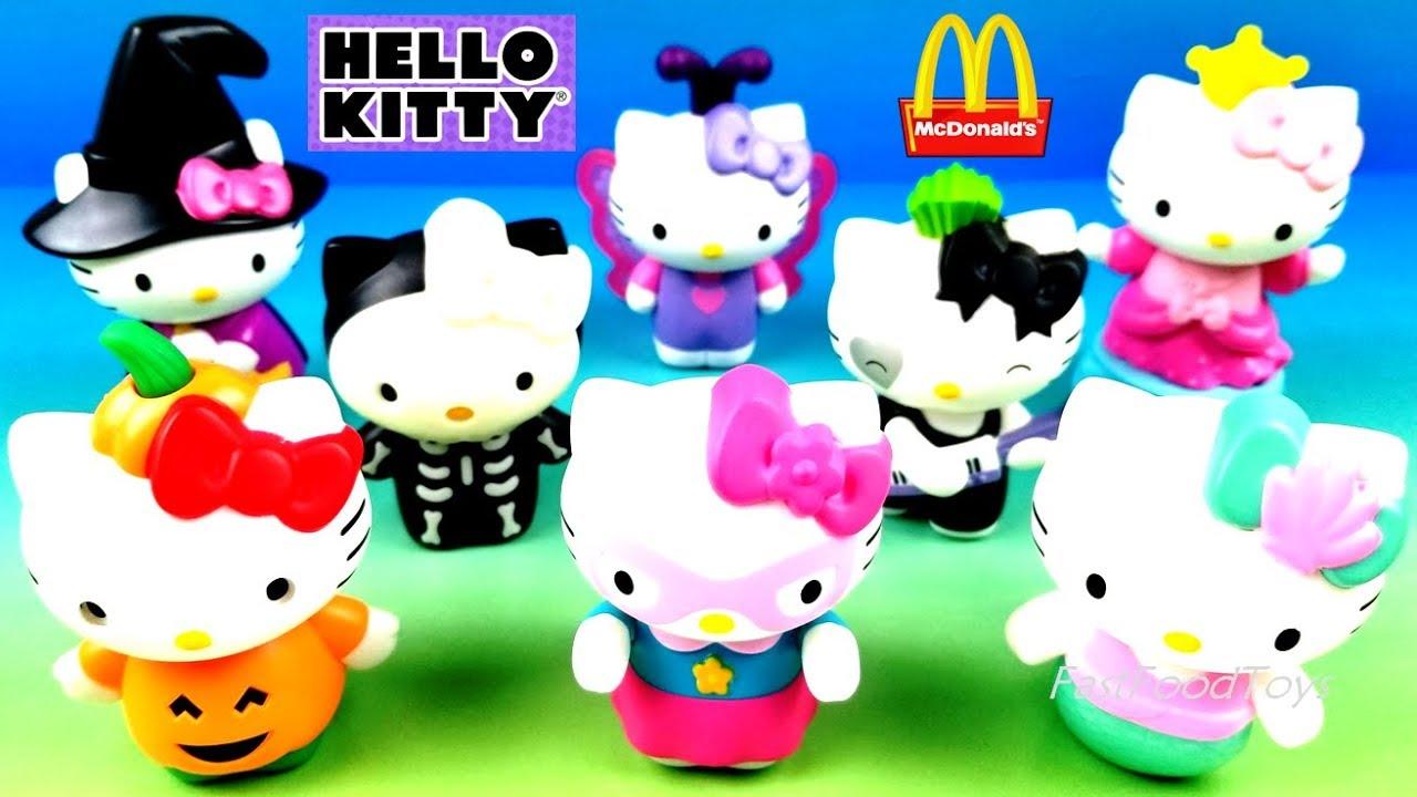 Mcdonalds Halloween Toys 2020 2019 McDONALD'S HELLO KITTY HALLOWEEN HAPPY MEAL TOYS FULL SET 8