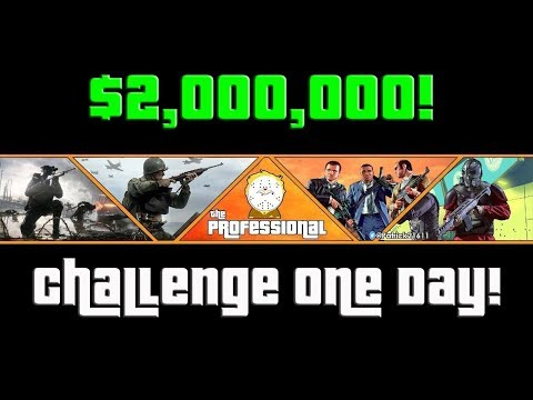 GTA $2,000,000 Grinding Challenge In One Day!