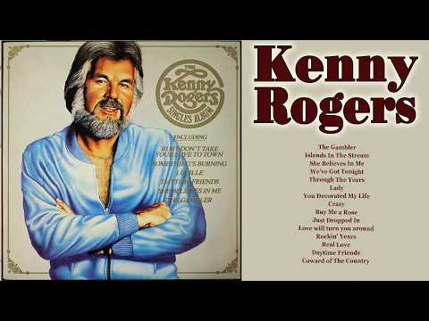 Kenny Rogers Greatest Hits Album - Best Of Kenny Rogers Classic Male Country Love Songs