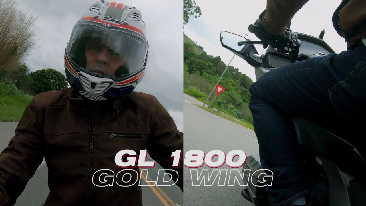 Tudo sobre a Gold Wing com Leandro Mello