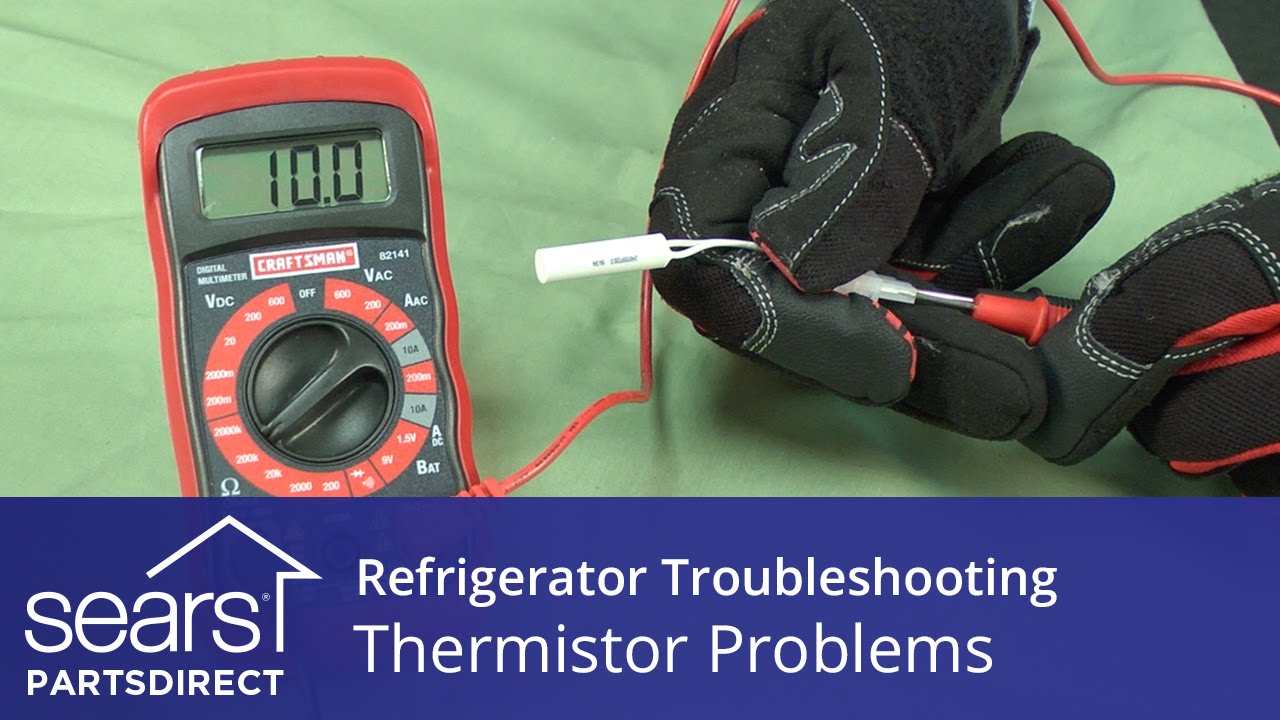 Troubleshooting Thermistor Problems In Refrigerators Youtube Rcd Tripped Trip Switch Normally Shows Up As Quotsockets
