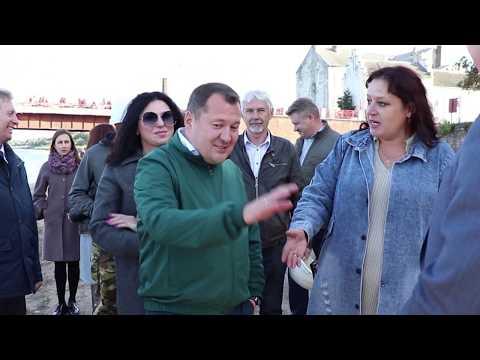 Глава минстроя РФ посетил  Советск