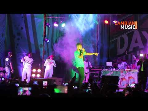 """Patoranking Performs """"Suh Different"""" In Zambia At Mosi DOT '18"""