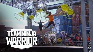 Championship Relay - Party Time vs. Team TNT | Team Ninja Warrior | American Ninja Warrior
