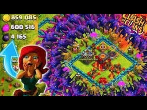 Unlimited Troops Attack ||clash Of Clans||private Server ||clash Of 💡 Lights S1||