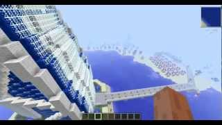 Minecraft - Solaris City - Burj al Arab - Hotel Dubai - Download save