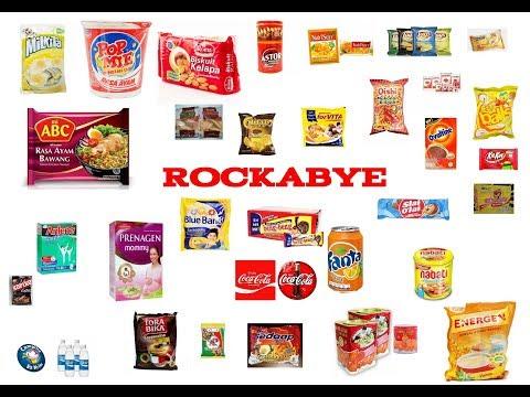 Rockabye versi Merek Makanan di Indonesia (Parody)