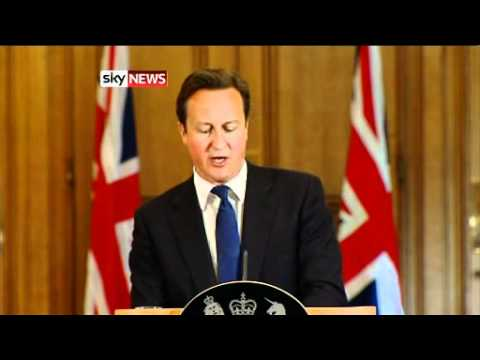 David Cameron - I Take Full Responsibility For Andy Coulson - NOTW Phone Hacking *NEW*