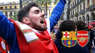 Forget The Result, What A Party! | Barcelona vs Arsenal | UCL Away Days