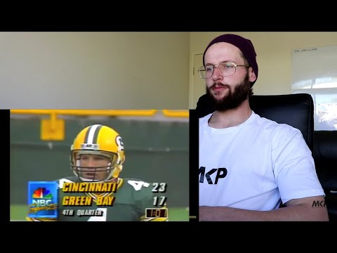 Rugby Player Reacts to BRETT FAVRE The Gunslinger NFL Career Highlights!