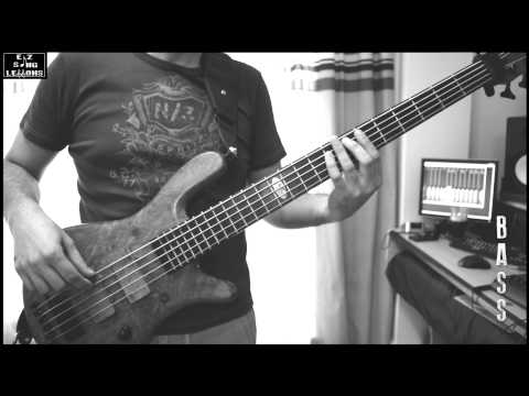 Son Et Lumiere Inertiatic ESP - Mars Volta [BASS Cover/Lesson with TABS/Score] Original Speed