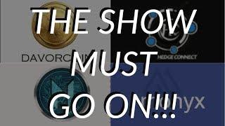UPDATES!! DAVOR, LOOPX, HEDGECONNECT, LIBRA, MONYX, TENO, NOVALEND, THORN, MONETIZE, ARBITRA.