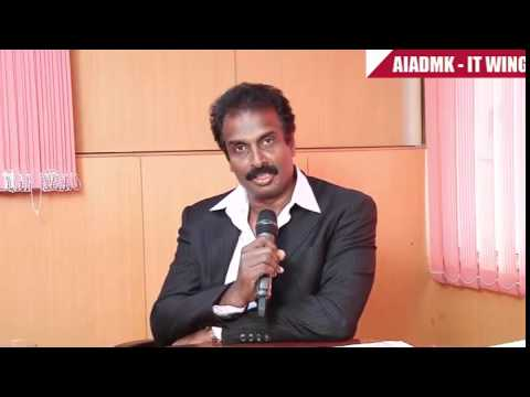 Actor,Producer Arun Pandian speaks about Tamil Nadu Global Investment Meet | AIADMK