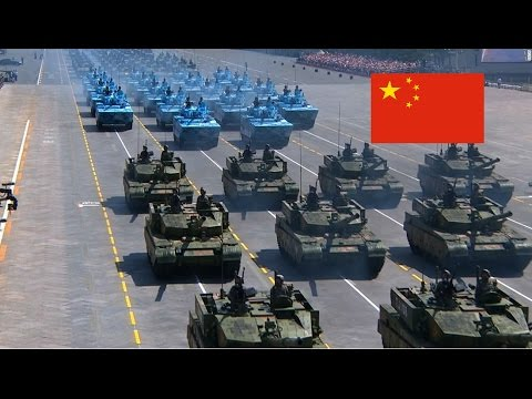 CHINA, ARMED FORCES 2017 (HD)