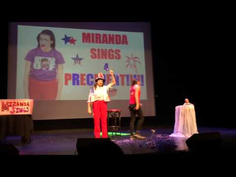 Miranda Sings Miami FL 3/1/15 Part 1 of 2