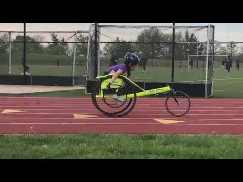 05-01-2018 - Adaptive Track & Field - Disabled Sports - Wheelchair Racing