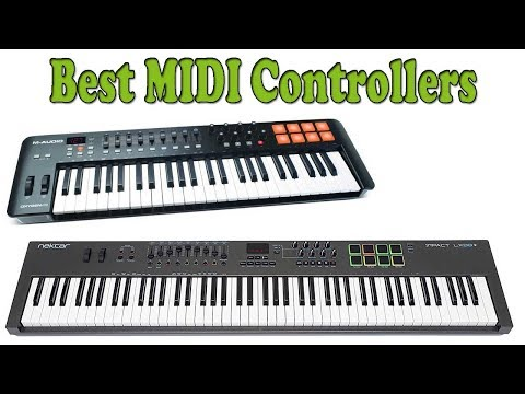 5 Best MIDI Controllers 2018 – MIDI Controllers Reviews