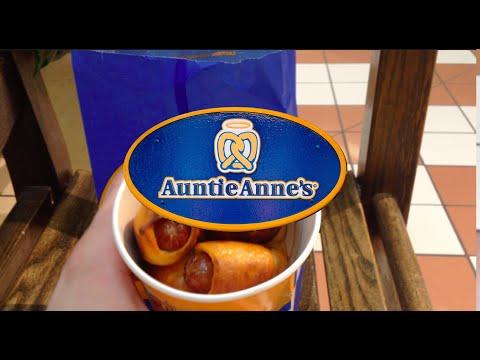 Auntie Anne S Mini Pretzel Dogs