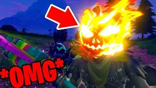 how to get the flaming pumpkin head (Hollowhead upgrade) in Fortnite: Battle Royale *NEW* Easter egg