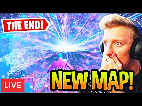 "TFUE REACTS TO ""THE END"" SEASON 11 FINAL EVENT! (Fortnite)"