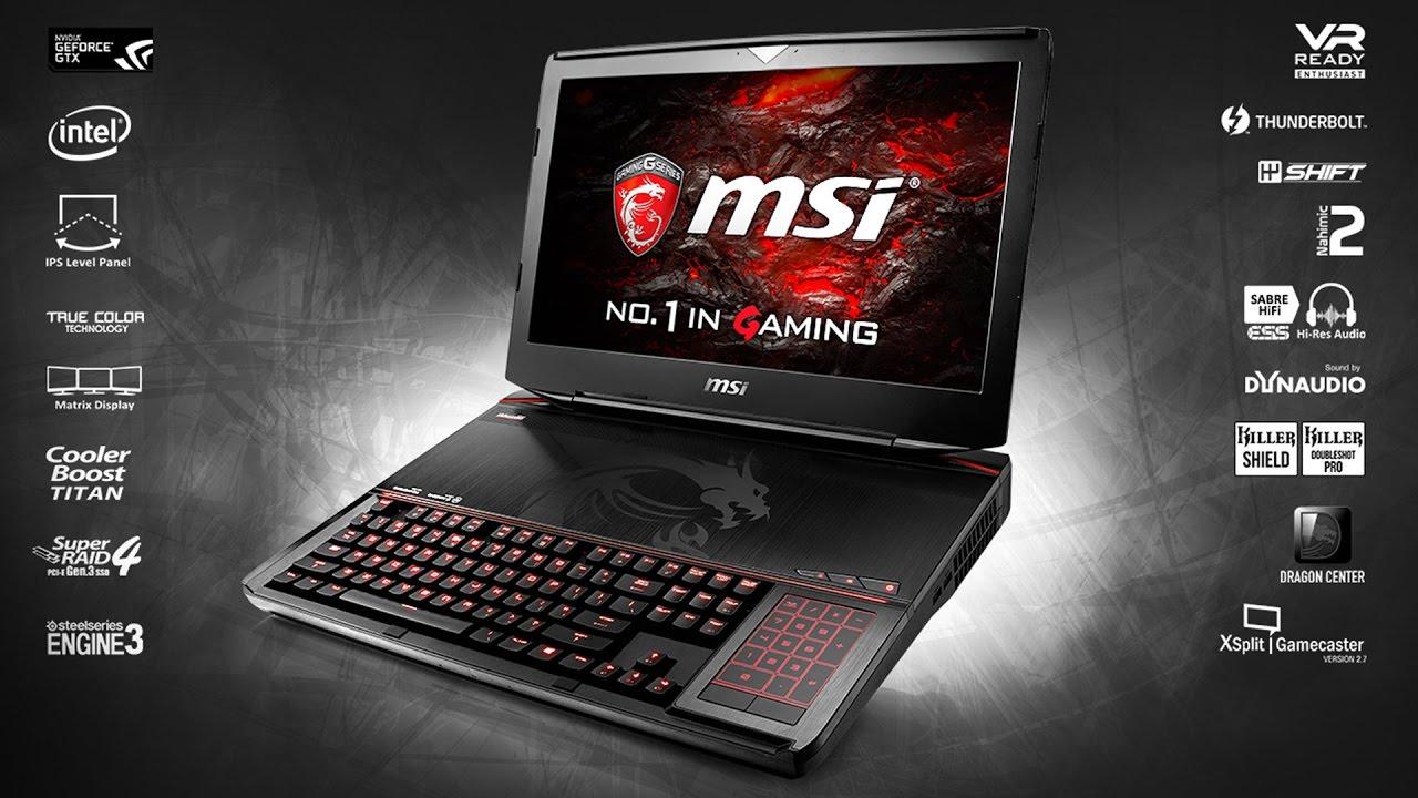 MSI GT83VR Titan SLI Laptop