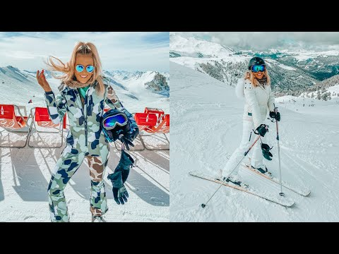 SKI TRIP VLOG! SKIING IN THE ALPS, LA PLAGNE, LES ARCS, SKIING IN FRANCE - TOPSHOP SNOW
