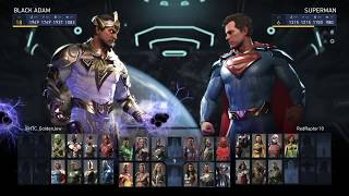 Injustice 2 - Locked Characters Glitch