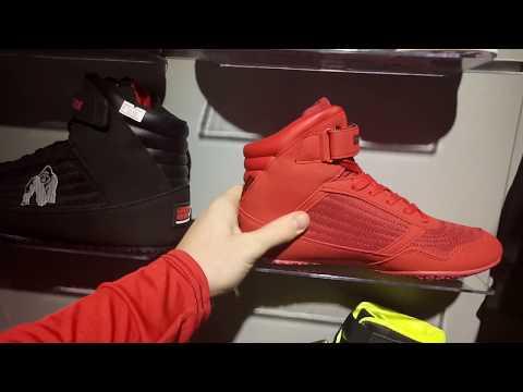 Кроссовки для бодибилдинга Gorilla Wear High Tops Red/Black