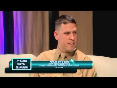 T-Time with Ginger - Episode: Sgt. Mike Trevino, United States Marine Corp