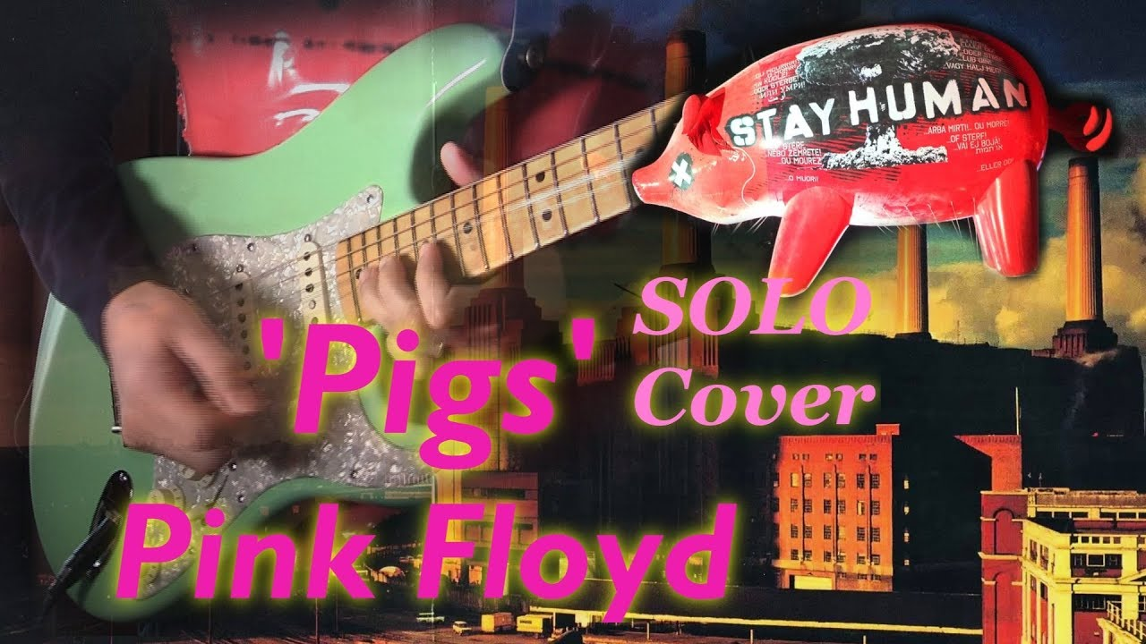 Pink Floyd - Pigs [Guitar SOLO Cover] (Three Different Ones)