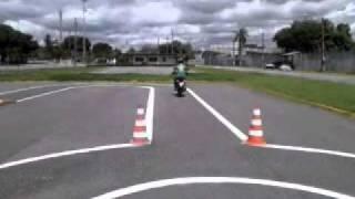 Repeat youtube video Exame prático de moto - Detran Fortaleza