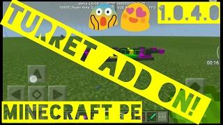 Turret add-on - Minecraft PE