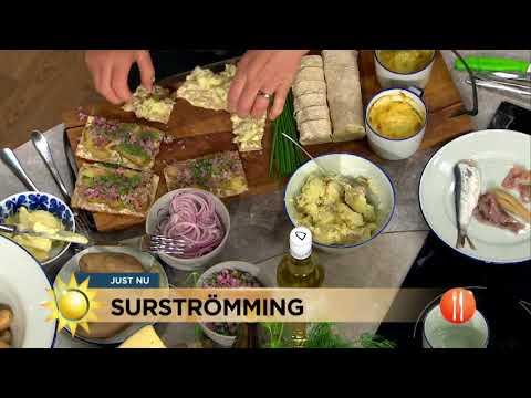 """TV4-profilerna testar surströmming: """"Jag är rädd på riktigt"""" - Nyhetsmorgon (TV4)"""