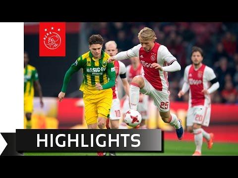 Highlights Ajax - ADO Den Haag