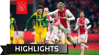 Highlights Ajax - ADO Den Haag
