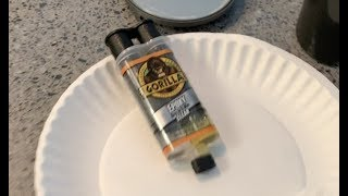 How to use Gorİlla epoxy glue to fix a plastic plunger for our juicer