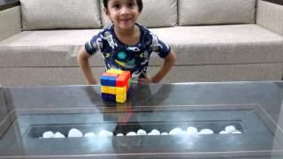 Moksh Solves A 7 Piece 3-d Puzzle Cube_1: A Spatial Intelligence Activity