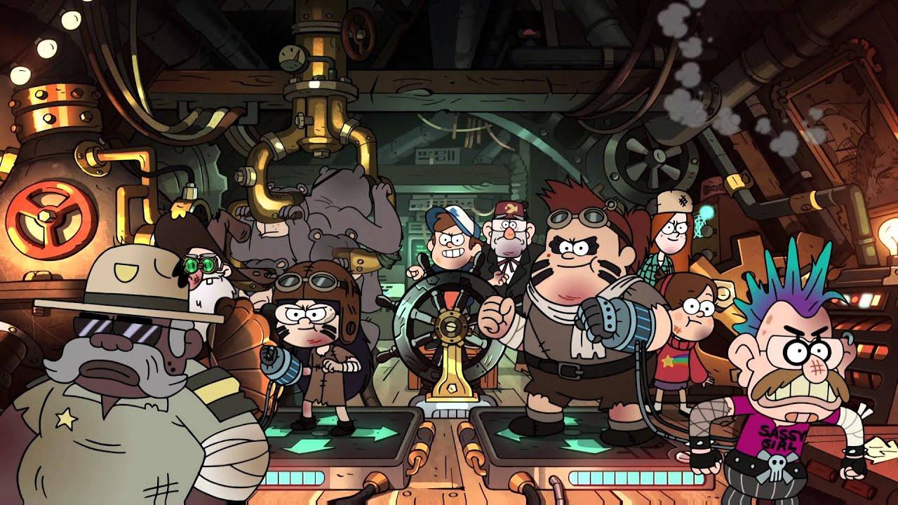 Gravity Falls Wallpaper Pc Gravity Falls Battle Theme Take Back The Falls