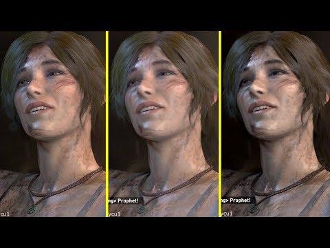 Rise of the Tomb Raider Xbox One X vs PS4 Pro vs PC 4K Graphics Comparison