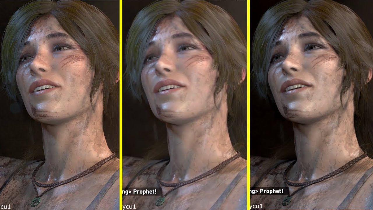 Rise of the Tomb Raider Xbox One X vs PS4 Pro vs PC 4K ...