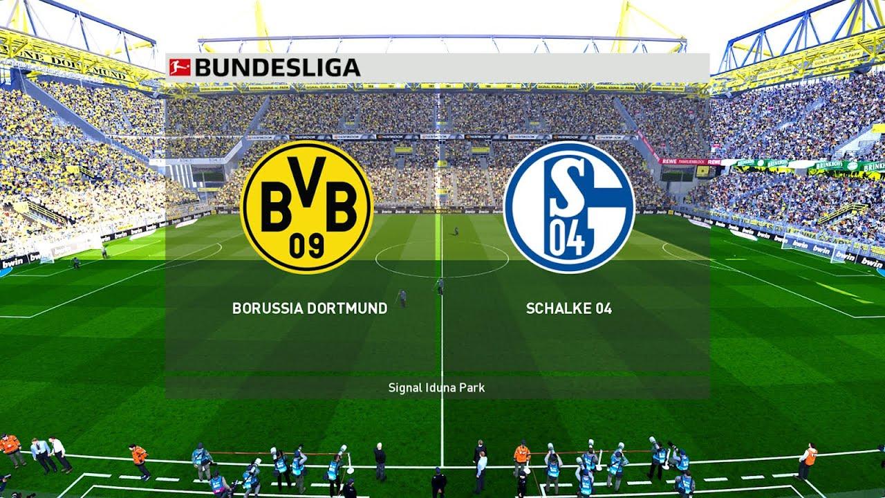 Bundesliga Returns - Borussia Dortmund vs Schalke - PES 2020 - YouTube
