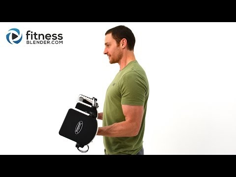 Biceps and Triceps Superset Strength Workout Upper Body Strength Routine