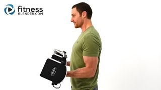Biceps And Triceps Superset Strength Workout - Upper Body Strength Routine