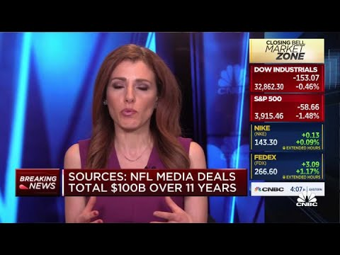NFL finalizes new 11-year media rights deal, Amazon nabs Thursday night games