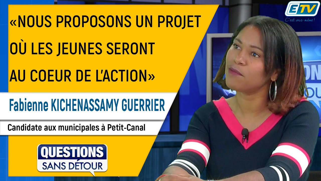 Questions Sans Détour avec Fabienne KICHENASSAMY GUERRIER
