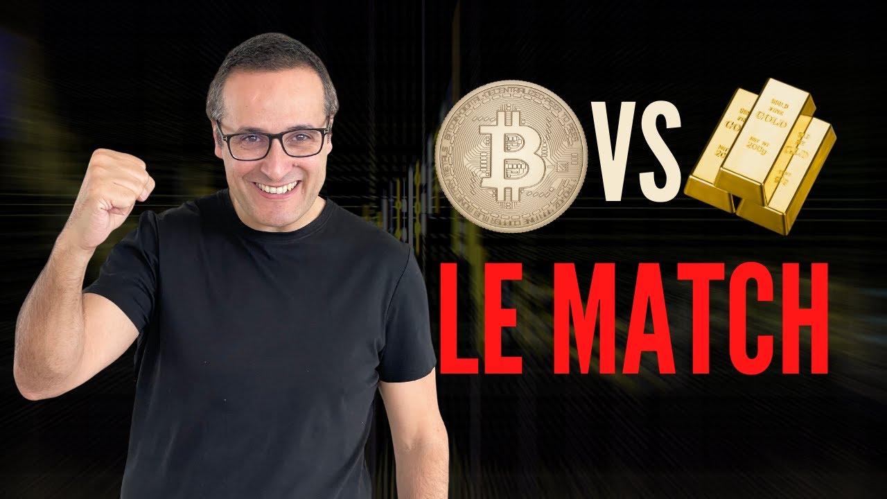 Faut-il ACHETER de l'OR ou du Bitcoin ? (ou FUIR tout simplement)