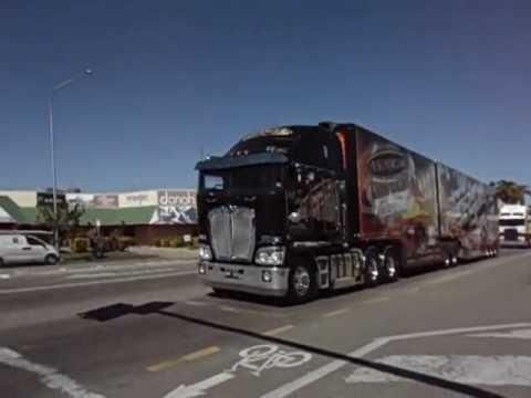 V8 Supercars Transporter Parade, Townsville, July, 2012